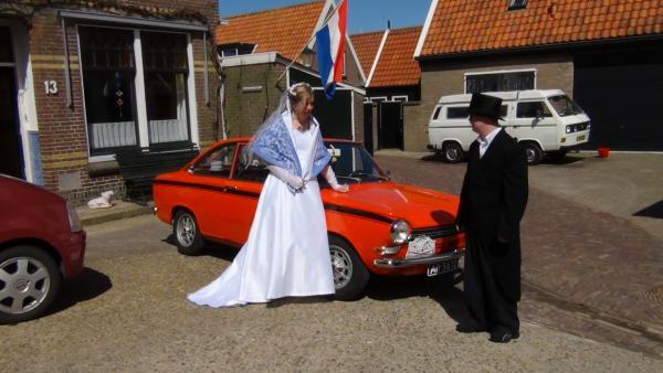 Ophalen van de bruid