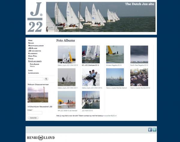 J22 overzichtspagina