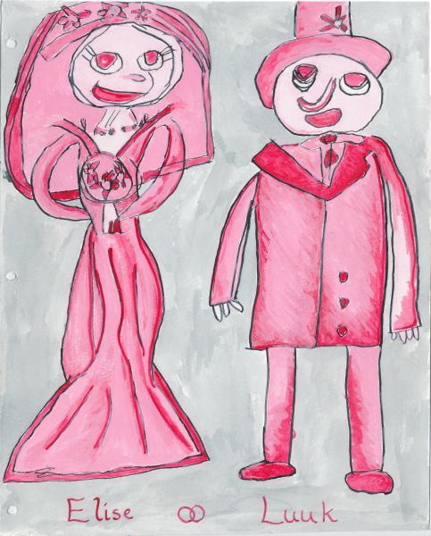 Voorzijde Trouwakte kunsthuwelijk