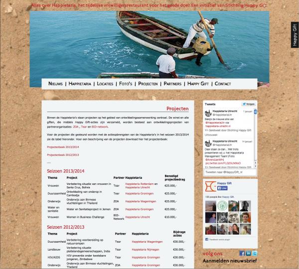 website happietaria